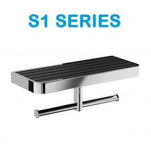 SERIE COMPLETA DE Accesorios de Baño S1 Series de Salgar.