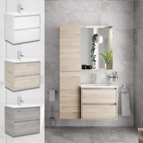 Mueble de baño S40 FONDO REDUCIDO Salgar 60 cm con LAVABO