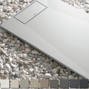 Plato de ducha resina SENSATION de Kretta carga mineral HASTA 200 cm