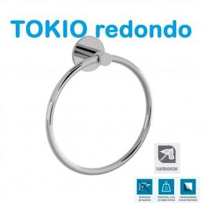 SERIE COMPLETA. Accesorios de Baño TOKIO REDONDO de Salgar.