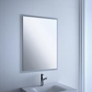 Espejo baño GALIA Salgar H/V 800x600 marco transparente 16087  CuartodeBaño.com