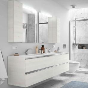 Mueble de baño SPIRIT Salgar 4 CAJONES suspendido 200 cm