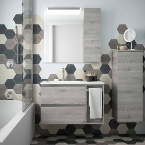 Mueble de baño MODULAR SPIRIT Salgar de 85 cm (60+25)