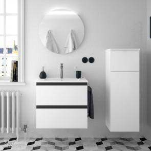 Mueble de baño SPIRIT Salgar 2 CAJONES suspendido 60 cm