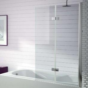 Mampara de bañera dos hojas abatibles 300 TR573 de Kassandra 90 cm