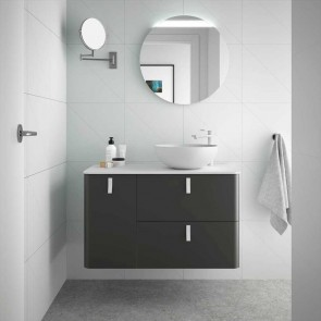 Mueble de baño UNIIQ ANTRACITA Mate Salgar 120 cm