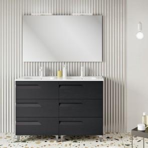 Mueble de baño VITALE Royo con 6 cajones y ancho 120 cm