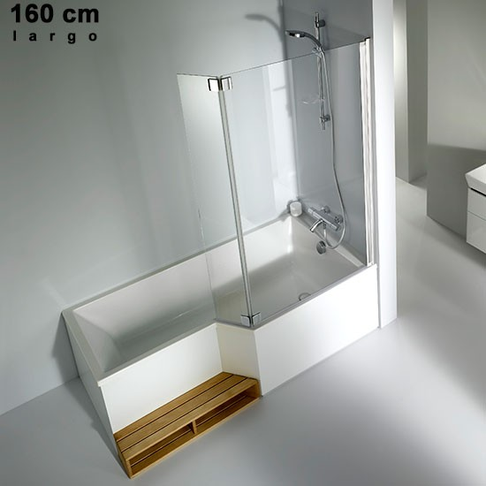 ba era acr lica dch 180 170 160 150 jacob delafon neo. Black Bedroom Furniture Sets. Home Design Ideas