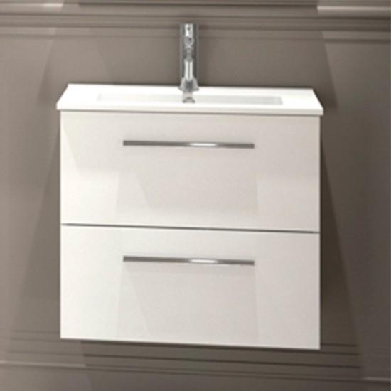 Mueble de ba o serie 35 salgar 60 brillo lavabo 21768 for Mueble lavabo 50 ancho