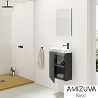 Muebles de baño MIKA fondo reducido de Amizuva