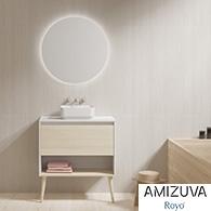 Muebles de baño NARA bicolor de Amizuva