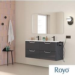 Muebles de baño LIFE de Royo