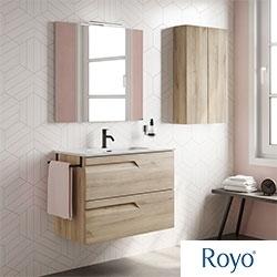 Muebles de baño VITALE de Royo