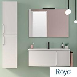 Muebles de baño WAVE de Royo