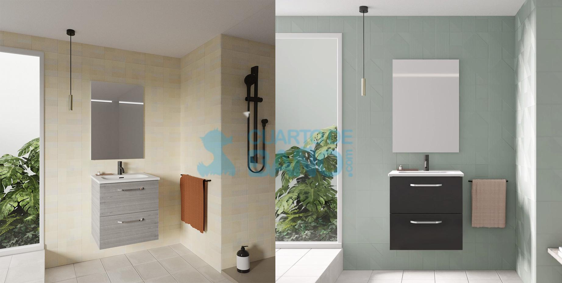 Mueble de baño HONE de Amizuva de Royo Group