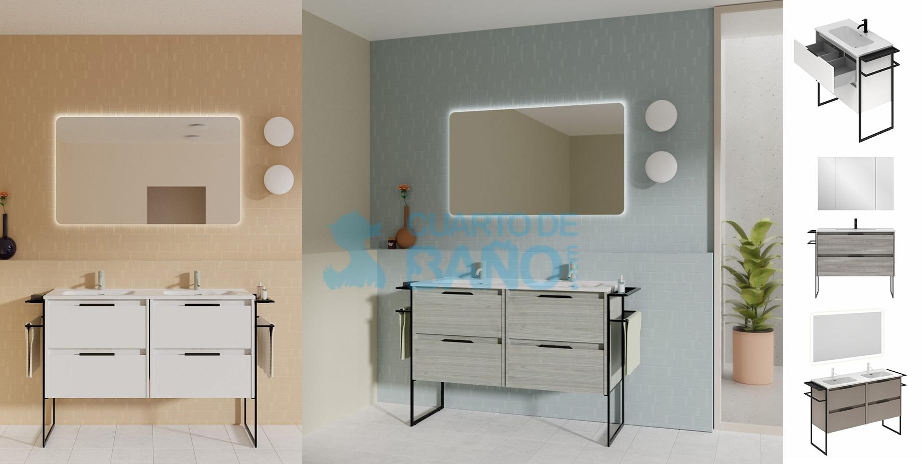 Mueble de baño KEIKO de Amizuva de Royo Group
