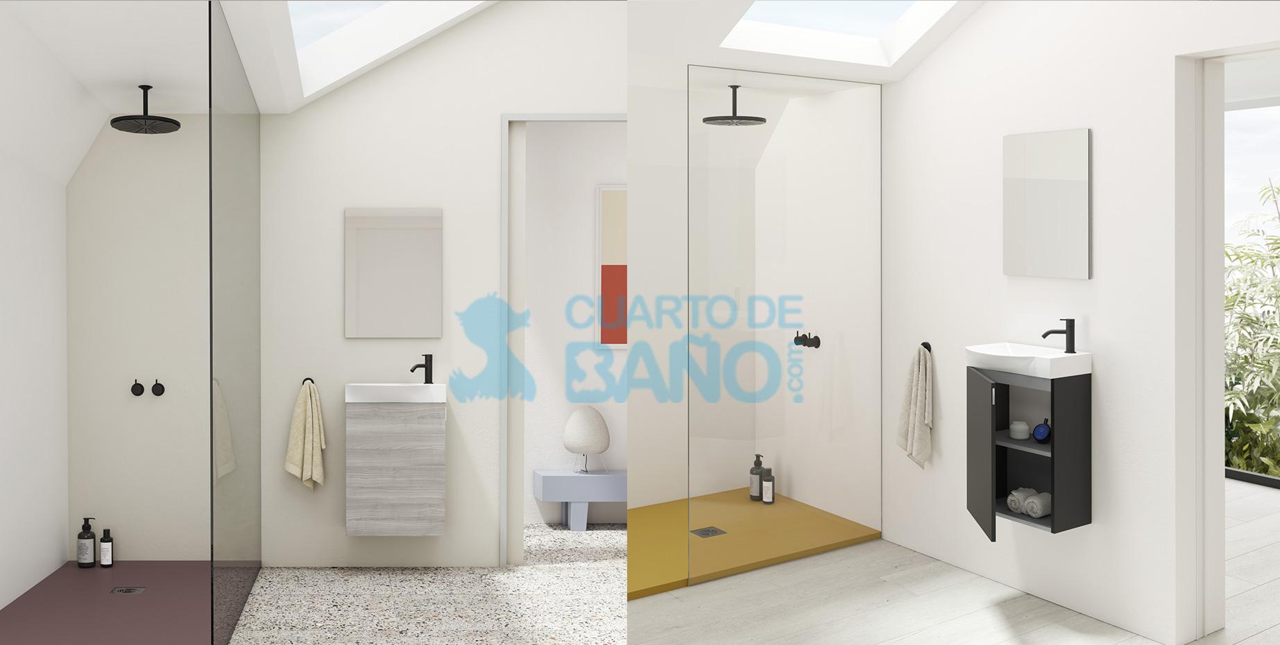 Mueble de baño MIKA de Amizuva de Royo Group