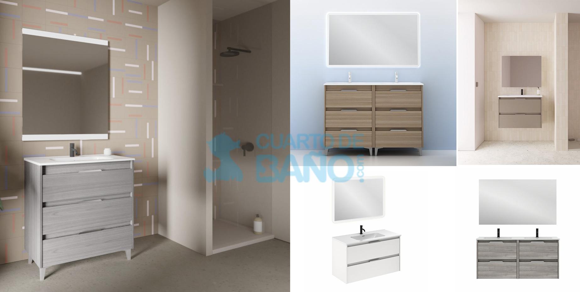 Mueble de baño SUKI de Amizuva de Royo Group