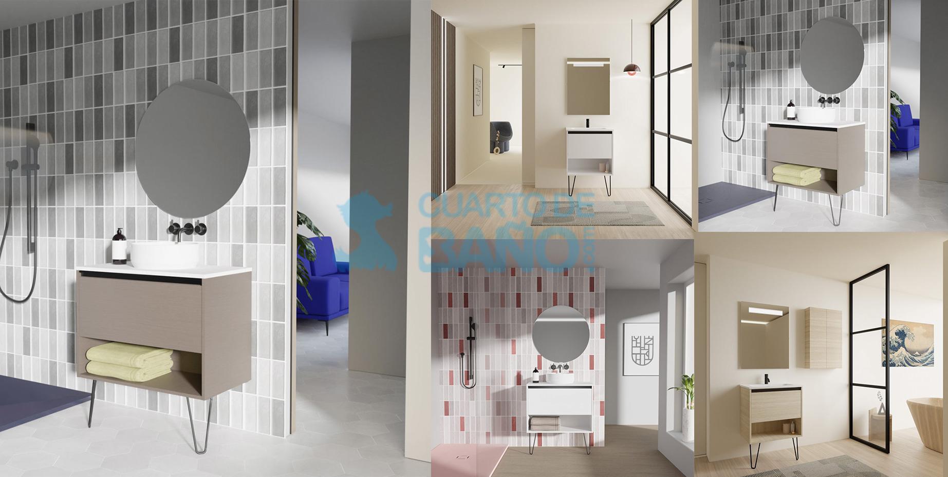 Mobiliario de baño YOKO de Amizuva de Royo Group