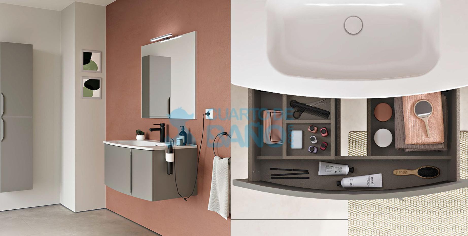 Muebles de baño WAVE de Royo Group