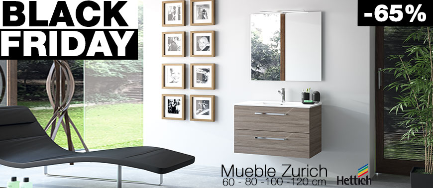 MUEBLE ZURICH - Black Friday 2018